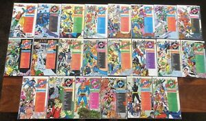 Who's Who DC comic book lot