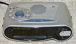 Emerson Research SmartSet Alarm Clock Radio CKS1701 AM/FM  Large LED Dispaly
