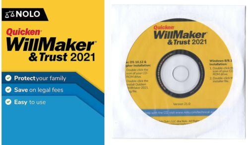 WillMaker & Trust 2021 CD