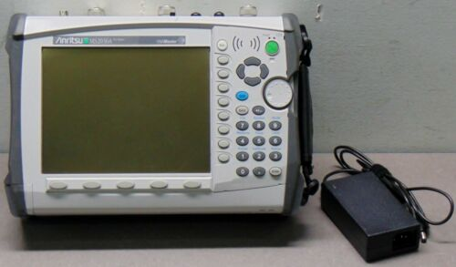 ANRITSU MS2036A VNA Master Network Analyzer 6GHz Opt. 25 31 PASSES ALL TESTS
