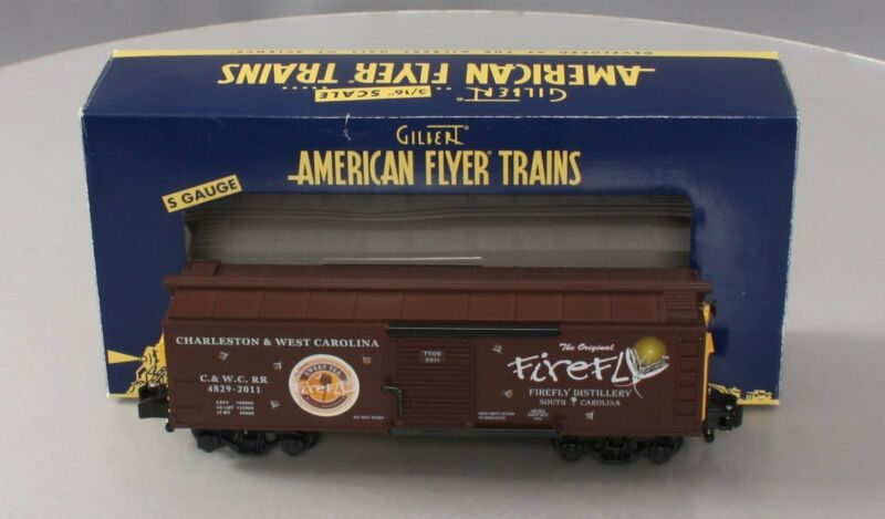 American Flyer 6-48293 S Gauge C. & W.C. Firefly Sweet Tea Vodka Boxcar LN/Box