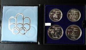 1976 Montreal Olympic Silver Coin set for sale