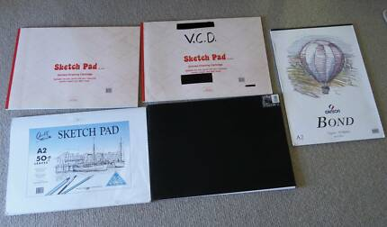 A2 VISUAL DIARIES/SKETCH PADS X 5