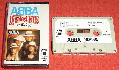 ABBA - SAUDI ARABIA CASSETTE TAPE - GREATEST HITS (BEST OF)