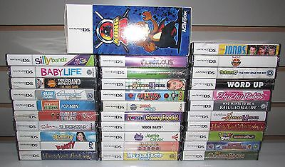 Lot of 32 Nintendo DS Games All Brand New! Wholesale Lot