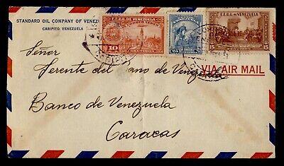 DR WHO VENEZUELA CARIPITO CORNER AIRMAIL C242862