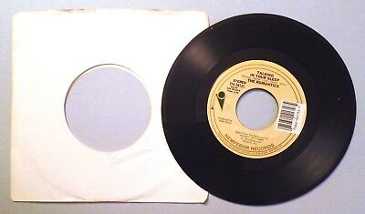 Talking In Your Sleep / I'm Hip by The Romantics 45 RPM 1983 Nemperor Records