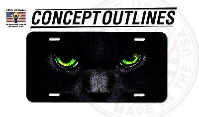 Cat Eye License Plate Frame - Cat Eye Aluminium Metal License Plate Tag Auto Car Truck T-Cats#5