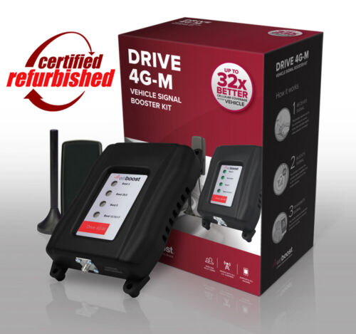 REFURBISHED weBoost Drive 4G-M 470121 Car Truck Cell Phone Signal Booster