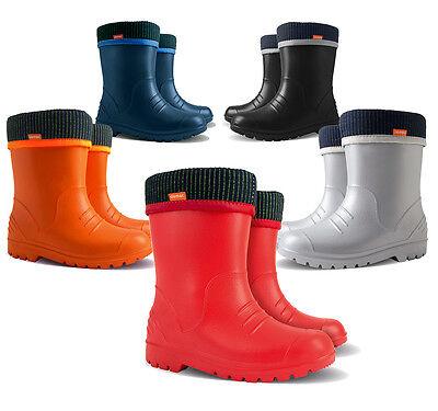 WELLIES KIDS RAIN WELLINGTON Rainy Snow Boots Shoes Socks Children Baby Boy Girl