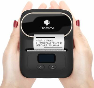 M110 Label Maker Machine Portable Bluetooth Thermal Printer Mini Mobile Sticker