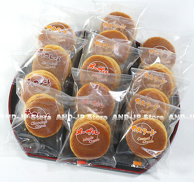 - Pancake Chocolate Maple Custard Cream Dorayaki Assorted 3 kinds Japanese wagashi