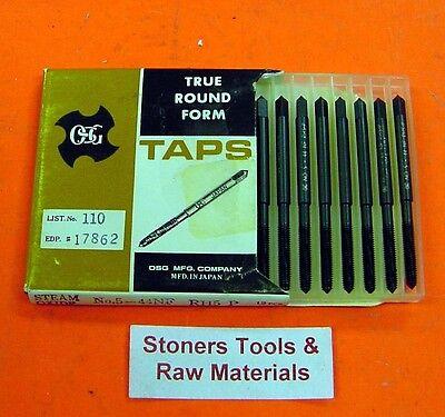 12 New 5-44 Nf H5 Plug Osg Roll Form Taps Forming Thread Hss 17562-01