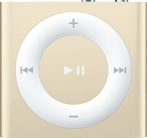Apple iPod shuffle® 2GB MP3 Player (6th Generation Latest Model) Gold MKMA2LL/A