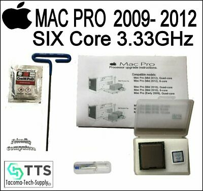 SIX (6) CORE Apple Mac Pro 4,1 5,1 x5680 3.33GHz XEON CPU Upgrade Kit 5.1 4.1 for sale  Shipping to India