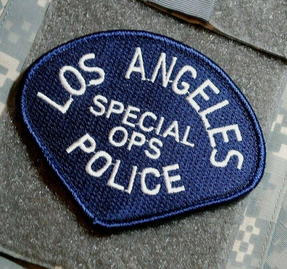 LOS ANGELES P0LICE L@PD BLACK//WHITE L@PD NARCOTICS SHOULDER SLEEVE INSIGNIA SSI