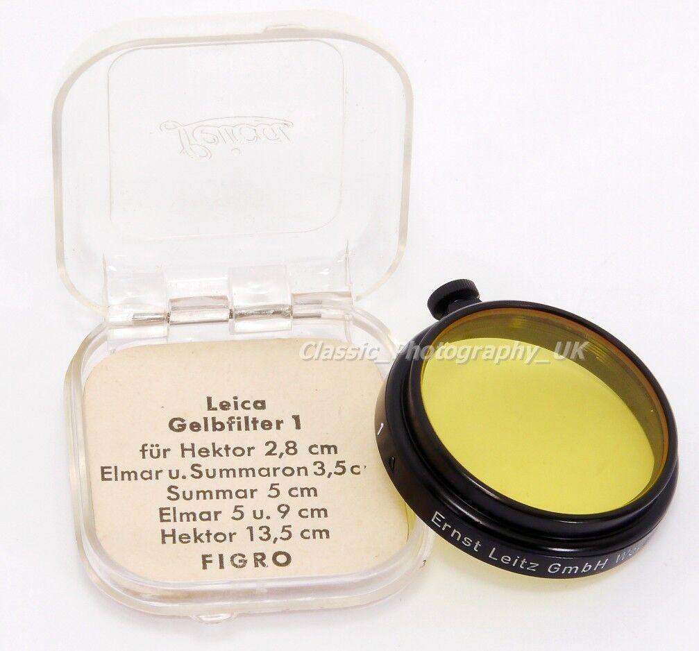 Yellow 1 / Leitz FIGRO A36 fit Filter for L39 LEICA ELMAR Hektor SUMMAR Summaron