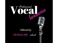Professional Vocal Lessons in Central Milton Keynes