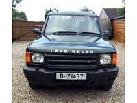 Land Rover Discovery TD5S Automatics, full MOT, 7 seater