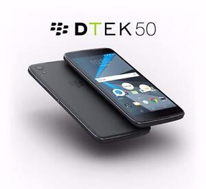 Used Blackberry DTEK 50 16G (Black)
