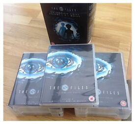 THE X FILES THE COMPLETE SERIES 1-9 + MOVIES