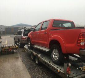 Wanted 4x4 pickup (Toyota hilux, isuzu dmax, ford ranger, l200)