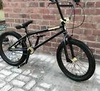 Mongoose BMX bike bicycle black green lime Scan R60 boys girls unisex