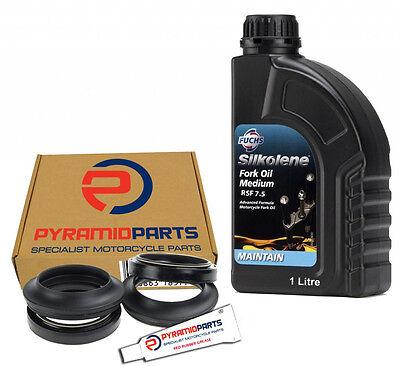 Fork Seals Dust Seals & Oil Honda VFR800 VTEC RC46 02-05