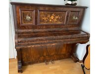FREE Beautiful UPRIGHT PIANO - Walnut - Good condition