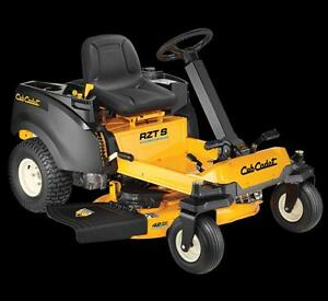Cub Cadet Zero Turn with Steering Wheel!  3 YR Bumper to Bumper warranty!  Only $86.57 per month 0 % Interest!!