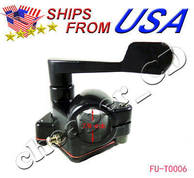 Thumb Throttle Lever (Throttle Lever Thumb Controller Assembly ATV Quad Pit bike 110cc 150cc)