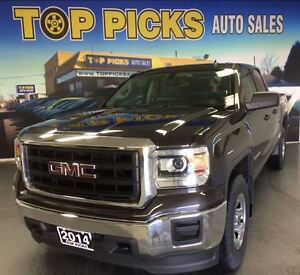 2014 GMC Sierra 1500 DOUBLE CAB, 4X4, ONLY 22,000 KMS!
