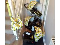 Cosatto Giggle Travel System, Treet design - Car seat, pushchair, pram and extras! REDUCED!!