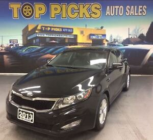 2013 Kia Optima LX, PANORAMIC SUNROOF, ALLOY WHEELS, LOW KMS!