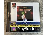 PlayStation 1 Command & Conquer red alert Game.