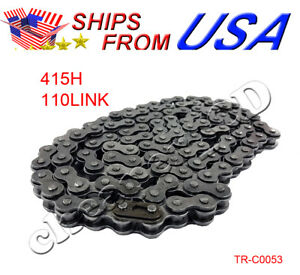 NEW 415H Chain Strengthen 2-Stroke 49 60 66 80cc Motorized bicycle Bike
