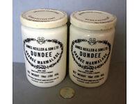 vintage james keiller jars