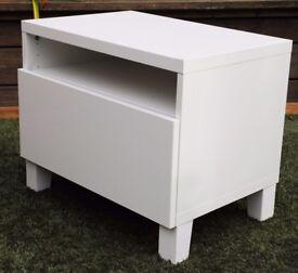 White small TV cupboard or bedside cupboard