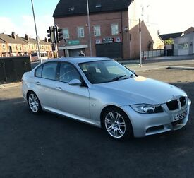 BMW 320i M Sport, LOW MILAGE, FSH, passed MOT last month.