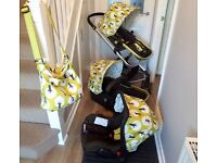 Cosatto Giggle Travel System in Treet design - car seat, pram and pushchair!