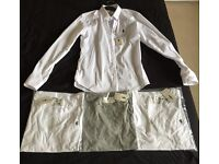 3 brand new Father Son Tees and 1 Super stretch shirt in extra small (RRP £135)
