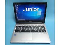 Asus i7 512GB SSD, 12GB Rapid HD TouchScreen Gaming Laptop, HDMI, office, Boxed Excellent Condition