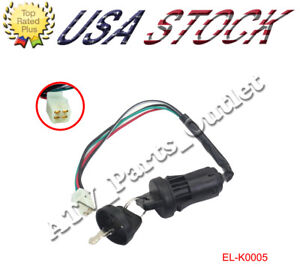 ATV Ignition Switch | eBay on club car ignition switch diagram, ford steering column wiring diagram, simple auto wiring diagram, starter wiring diagram, 1-wire alternator wiring diagram, evinrude 28 spl ignition wiring diagram, gm tachometer wiring diagram, 1990 f250 truck wiring diagram, distributor wiring diagram, universal ignition switch installation, garden tractor ignition switch diagram, ignition coil wiring diagram, 12 volt solenoid wiring diagram, murray ignition switch diagram, saab 900 ignition wiring diagram, universal motorcycle ignition switch, ignition system wiring diagram, cdi ignition wiring diagram, chopper wiring diagram,