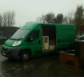 Van and Up to 7.5ton lorry available full house move