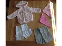 Girls Clothing Bundle, age 6-9 months, majority 'Next' items!