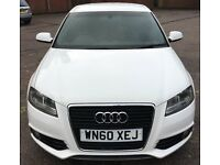 Audi A3 S line 2.0 TDI Sportback 5 door Excellent Condition NOT POLO A4 A1 Honda BMW SEAT LEON