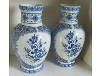 T.Delfts Bleau Vases