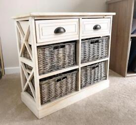 Rustic New England hall storage unit for sale
