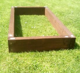 1 x ( 4ft x 2ft approx. ) RAISED BED FRAME for £ 25 - nice bargain.