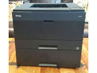 Dell 2330DN Mono Laser Printer with extra 550 sheet paper drawer. (Second hand ; Good Condition)